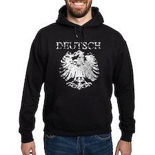 Deutsch German Eagle Hoodie