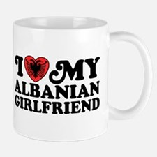 I Love My Albanian Girlfriend Mug