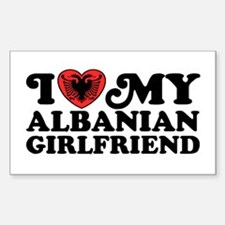 I Love My Albanian Girlfriend Decal