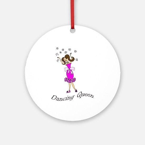 Dancing Queen Ornament (Round)