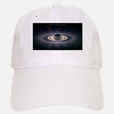 Saturn Eclipse Baseball Baseball Cap