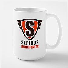 SeriousBirdHunter_CafePress_logo_1_110713 Mugs