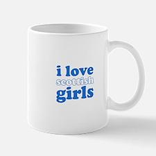 i love scottish girls (blues) Mug