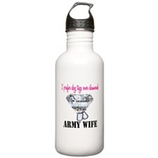 Army Wife Home/Office Water Bottle