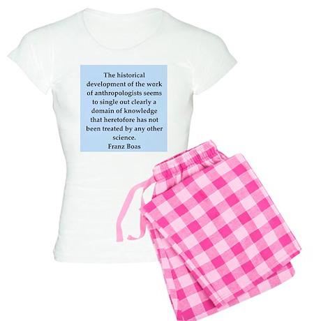 Franz Boas quotes Women's Light Pajamas