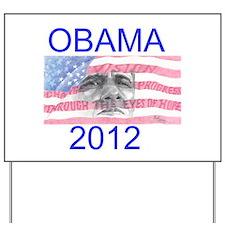 Obama 2012 Yard Sign