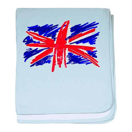 UK Flag baby blanket