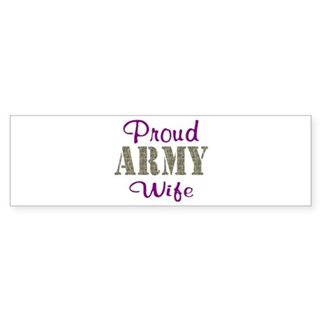 Army Purple Home/Office Sticker (Bumper)