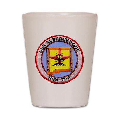 USS ALBUQUERQUE Shot Glass