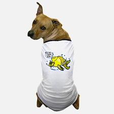 Not a Happy Bunny Fish Dog T-Shirt