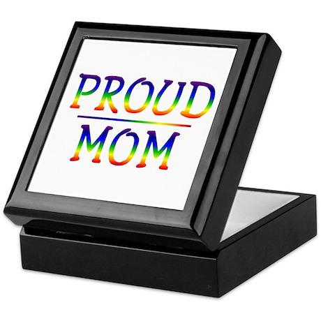 Proud Mom Keepsake Box