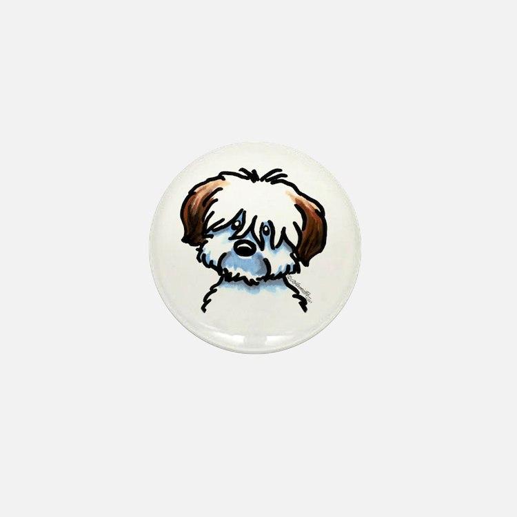 Funny Coton Mini Button