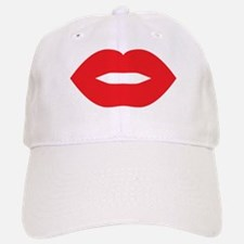Red Lips Baseball Baseball Cap