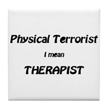 Unique Physical therapy Tile Coaster