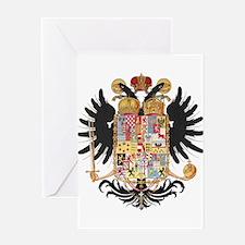 German Coat of Arms Vintage 1765 Greeting Card