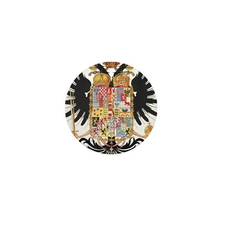 German Coat of Arms Vintage 1765 Mini Button (100