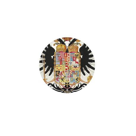 German Coat of Arms Vintage 1765 Mini Button (10 p