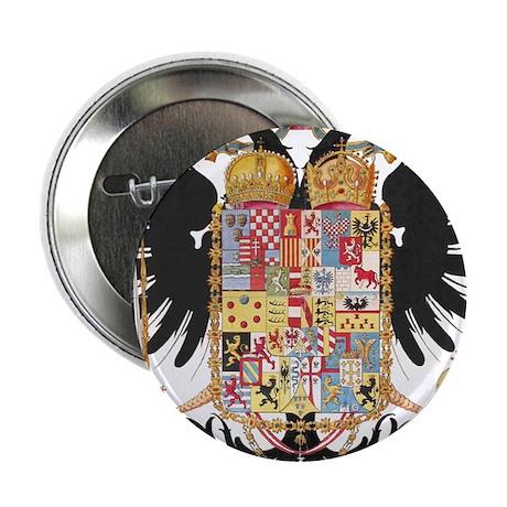 "German Coat of Arms Vintage 1765 2.25"" Button (10"