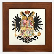 German Coat of Arms Vintage 1765 Framed Tile