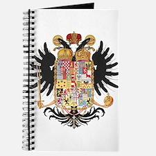 German Coat of Arms Vintage 1765 Journal