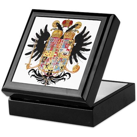 German Coat of Arms Vintage 1765 Keepsake Box