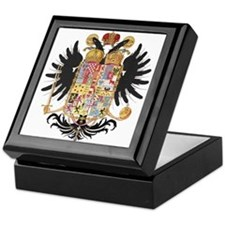 German Coat of Arms Vintage 1765 Keepsake Box