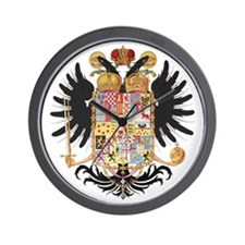 German Coat of Arms Vintage 1765 Wall Clock