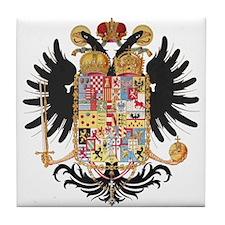 German Coat of Arms Vintage 1765 Tile Coaster