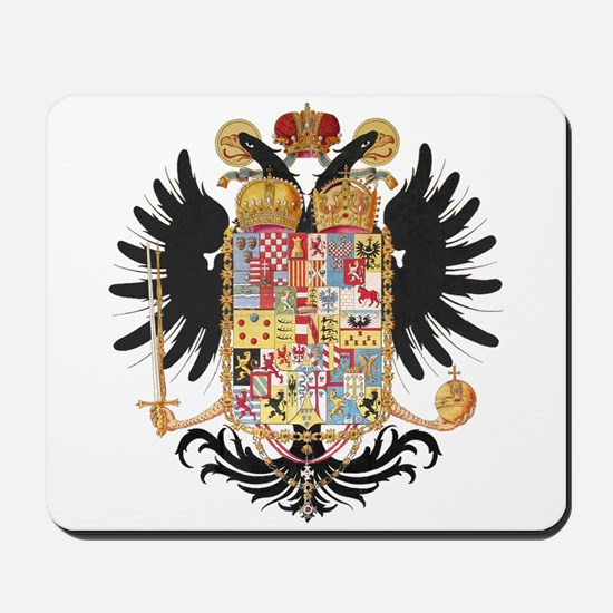 German Coat of Arms Vintage 1765 Mousepad