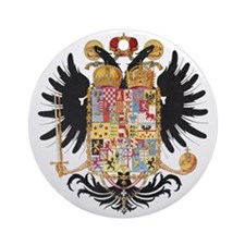 German Coat of Arms Vintage 1765 Ornament (Round)