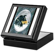 Tri Sheltie Designer Keepsake Box