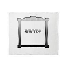 W W Y D ? Throw Blanket