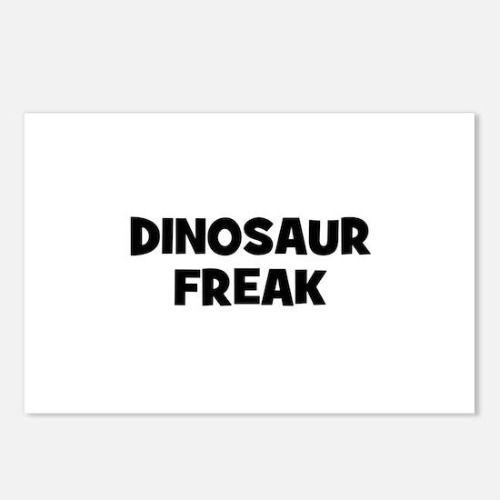 Dinosaur Freak Postcards (Package of 8)
