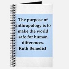 Ruth Benedict quotes Journal