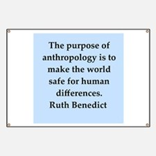 Ruth Benedict quotes Banner
