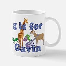 G is for Gavin Mug