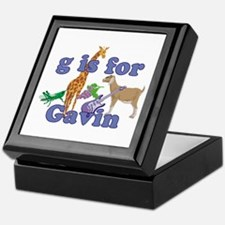 G is for Gavin Keepsake Box