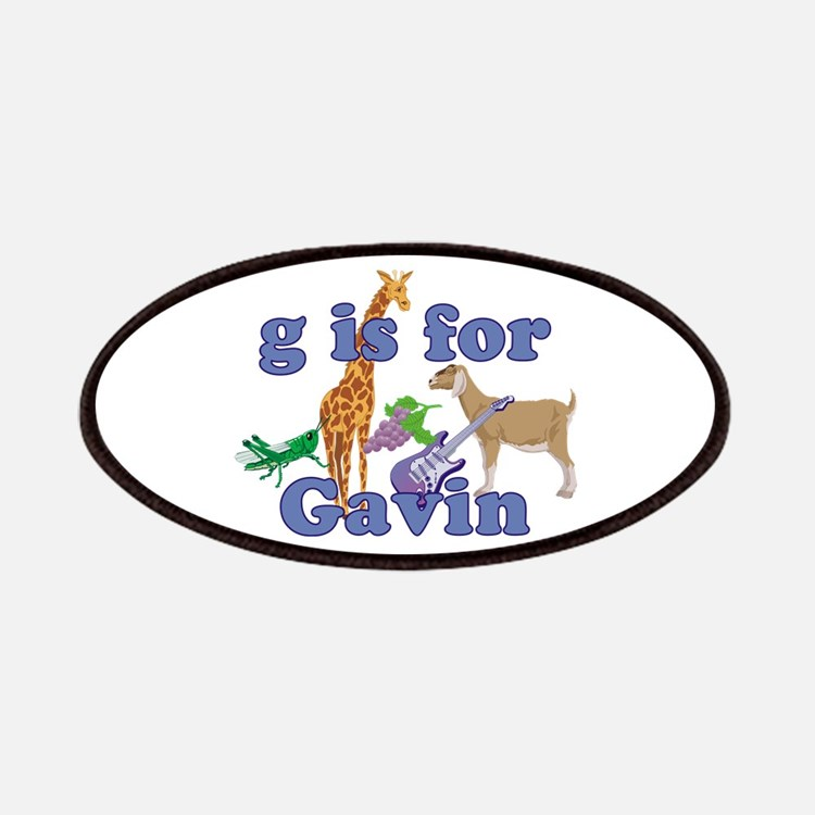 G is for Gavin Patches
