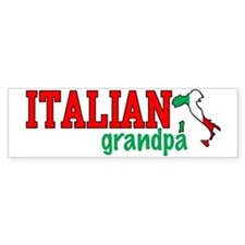 Italian Stuff Bumper Sticker