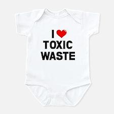 I Heart Toxic Waste Infant Bodysuit