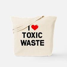 I Heart Toxic Waste Tote Bag