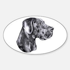 Great Dane HS Blue UC Decal