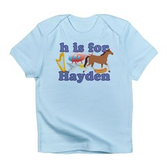 H is for Hayden Infant T-Shirt