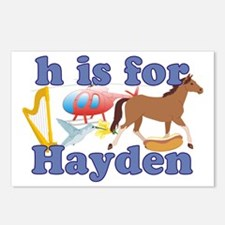 H is for Hayden Postcards (Package of 8)