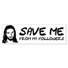 If You Don't Sin Jesus Died F Bumper Sticker