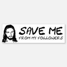 If You Don't Sin Jesus Died F Sticker (Bumper)