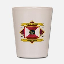 27th SC Volunteers Shot Glass