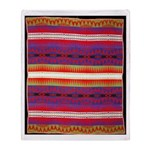 Indian Design-01bb Throw Blanket