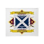 30th Arkansas Infantry Throw Blanket