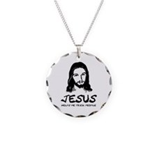 If You Don't Sin Jesus Died F Necklace